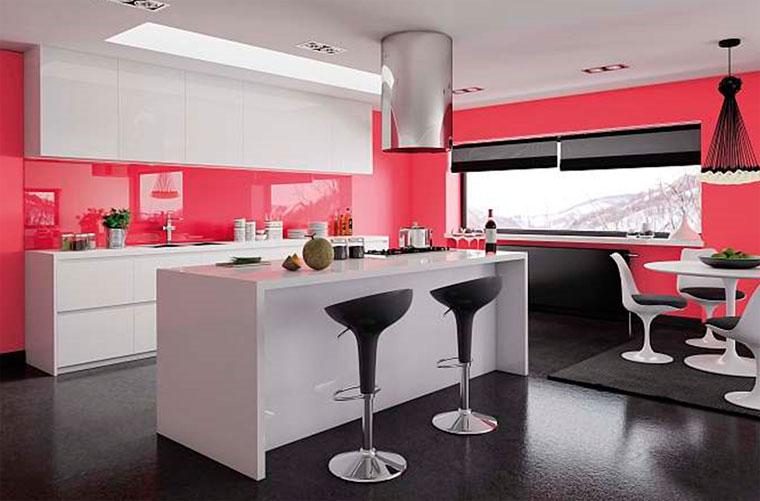 краска для кухни интерьер идеи