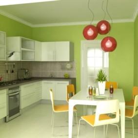 краска для кухни декор фото