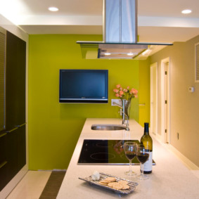 краска для кухни дизайн