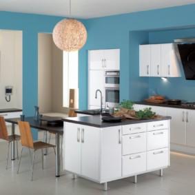 краска для кухни фото декор