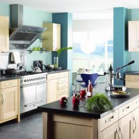 краска для кухни фото декора