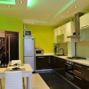 краска для кухни фото варианты