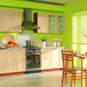 краска для кухни идеи фото