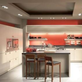 краска для кухни идеи варианты