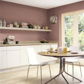 краска для кухни идеи виды