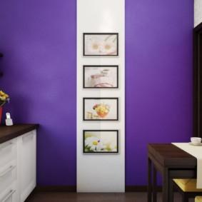 краска для кухни интерьер