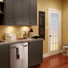 краска для кухни оформление