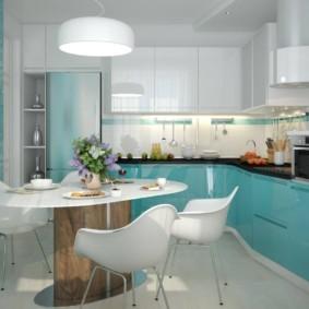 краска для кухни оформление фото
