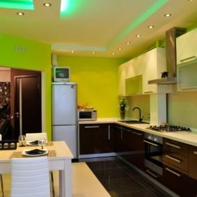 краска для кухни варианты идеи