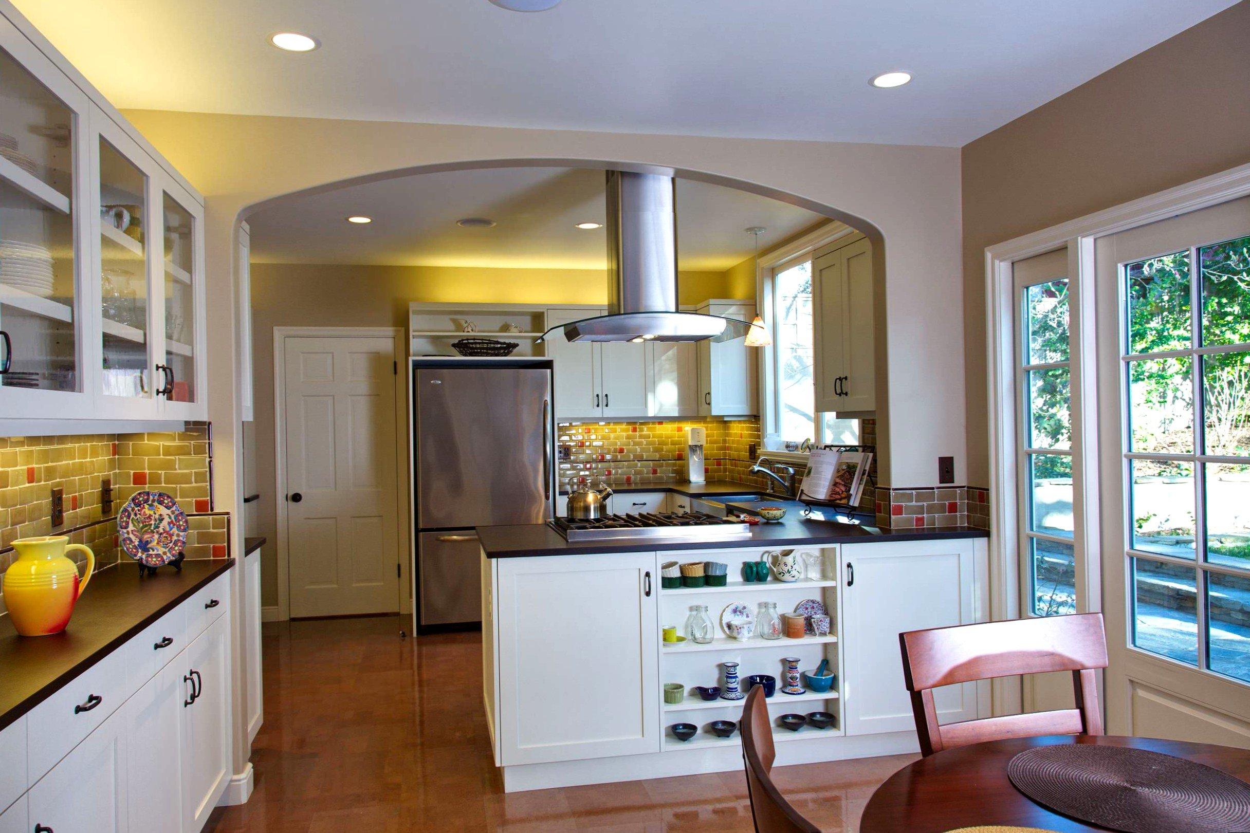 кухни с аркой