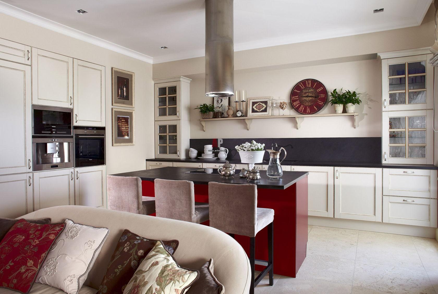 кухня без верхних шкафов дизайн интерьера