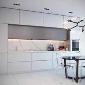 кухня до потолка декор идеи