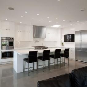 кухня до потолка фото дизайн