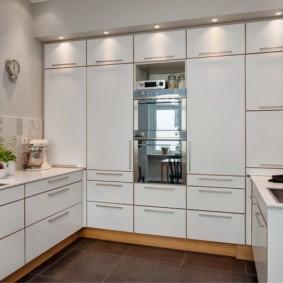 кухня до потолка фото дизайна