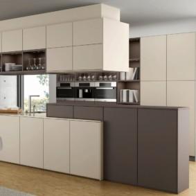 кухня до потолка фото идеи