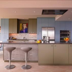 кухня до потолка фото вариантов