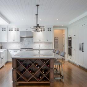 кухня до потолка фото варианты