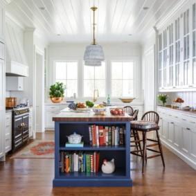 кухня до потолка фото видов