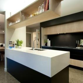 кухня до потолка идеи