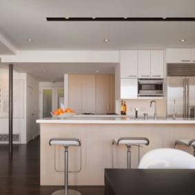 кухня до потолка идеи декор