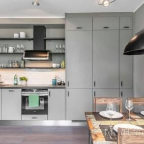 кухня до потолка идеи дизайн