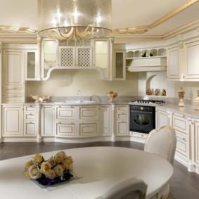 кухня до потолка идеи дизайна