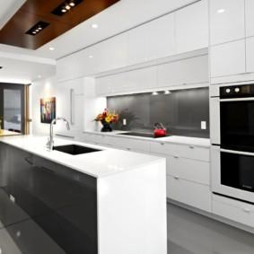 кухня до потолка интерьер идеи