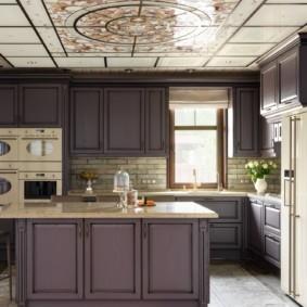 кухня до потолка оформление идеи