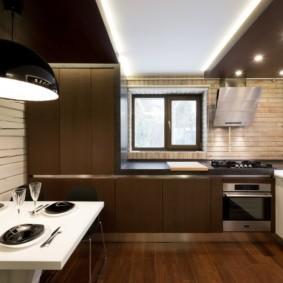 кухня до потолка варианты фото