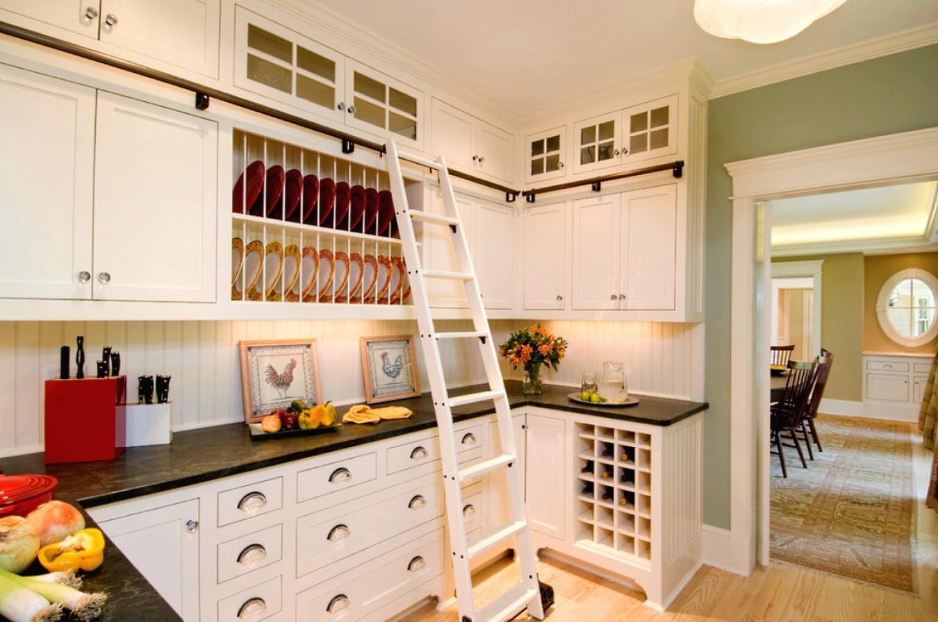 кухня до потолка использование виды