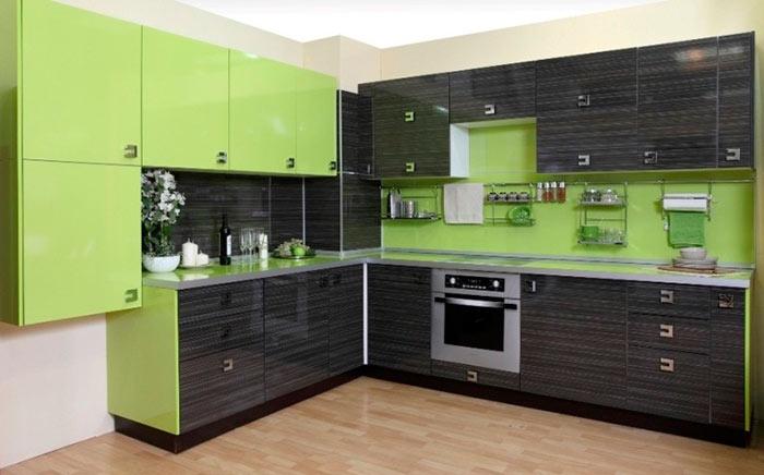 материалы для кухонного гарнитура пластик
