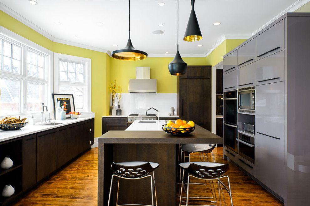 кухня с эркером идеи