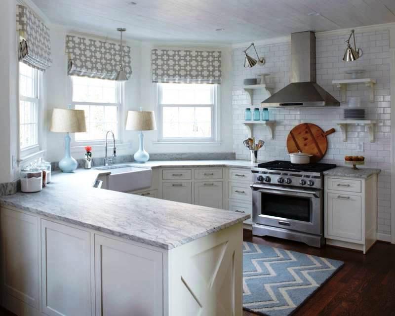 кухня с эркером виды дизайна