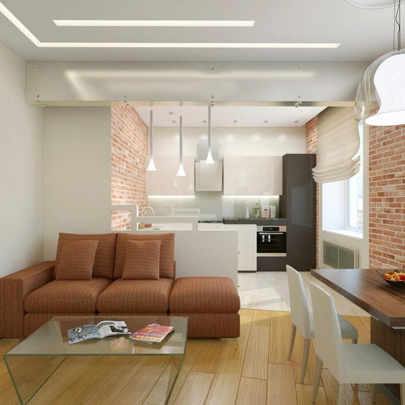 кухня совмещенная с залом фото дизайн