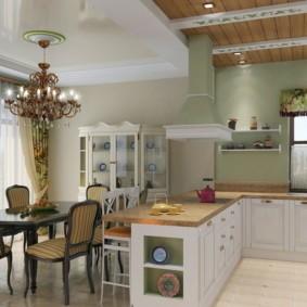 кухня совмещенная с залом фото вариантов