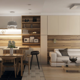 кухня совмещенная с залом фото дизайна