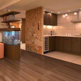 кухня совмещенная с залом идеи виды