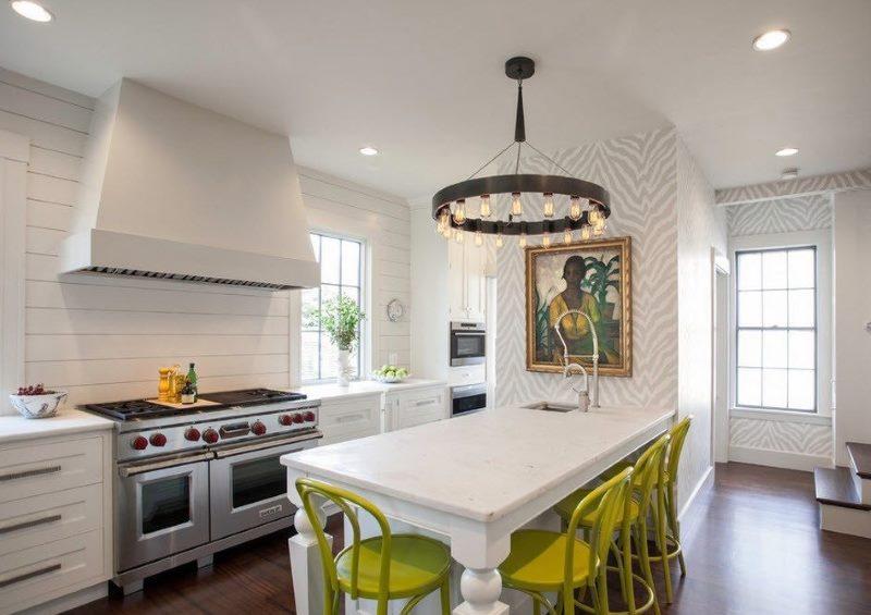кухня студия в квартире дизайн фото