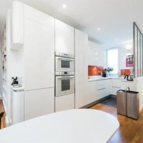 кухня студия в квартире дизайн идеи
