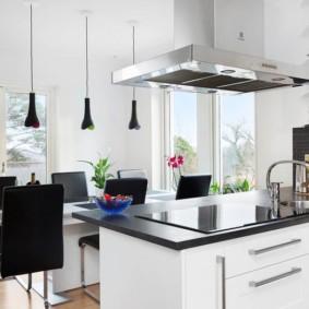 кухня студия в квартире идеи фото