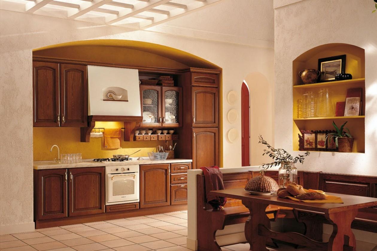 кухня ниша кантри