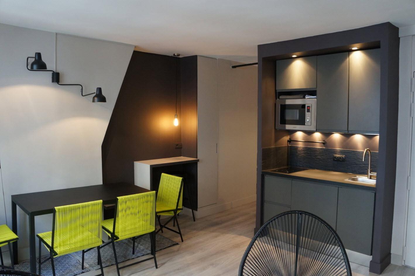 кухня ниша подсветка
