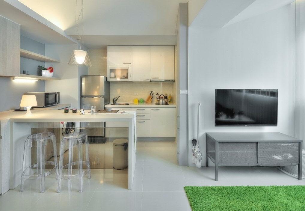 кухня ниша в интерьере