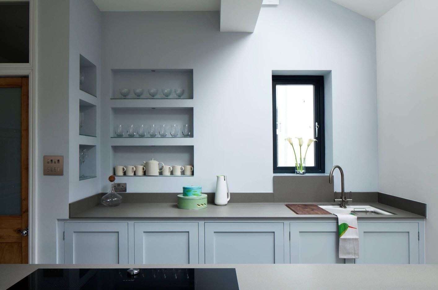 кухня ниша вварианты