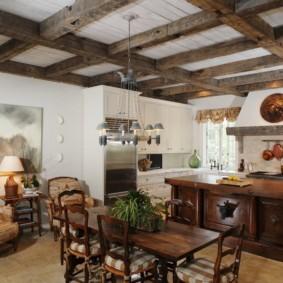 кухня в средиземноморском стиле декор фото