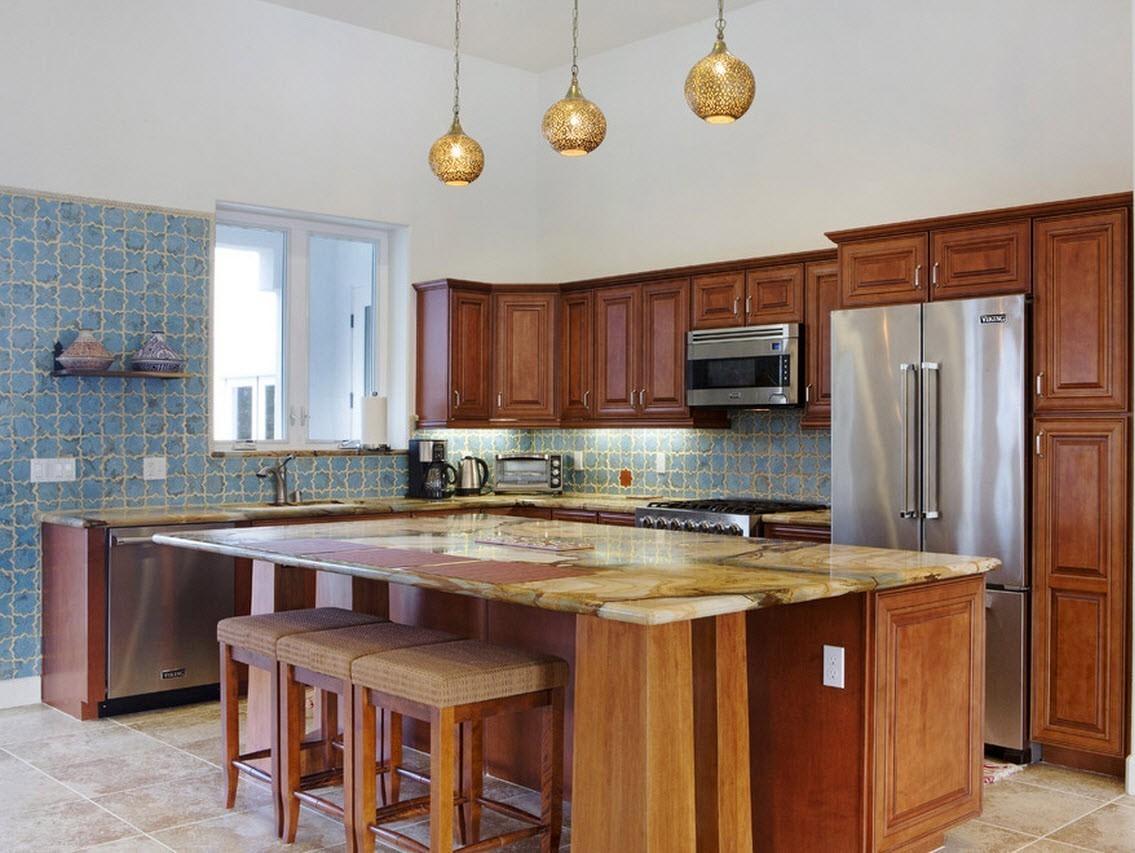 кухня в средиземноморском стиле фото оформление