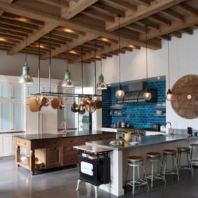 кухня в средиземноморском стиле фото варианты