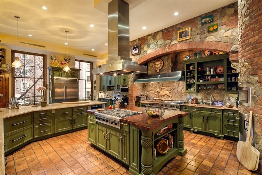 кухня в средиземноморском стиле фото видов