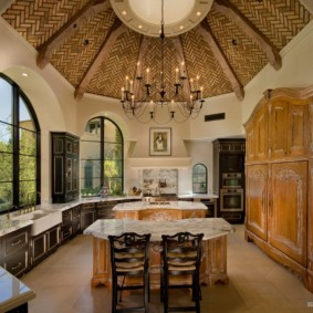 кухня в средиземноморском стиле идеи