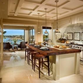 кухня в средиземноморском стиле варианты фото